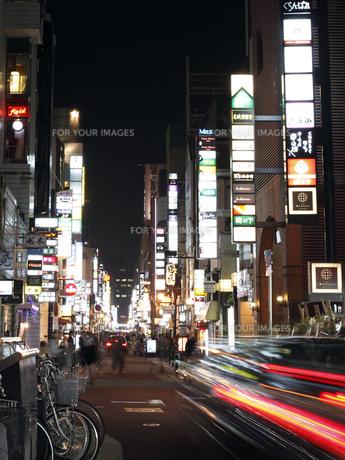 大阪北新地の写真素材 [FYI00107850]