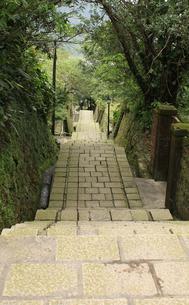 鉱山街の階段の写真素材 [FYI00107864]