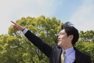 ビジネスマン横顔の写真素材 [FYI00107871]