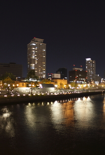 中之島公園夜景の写真素材 [FYI00107875]