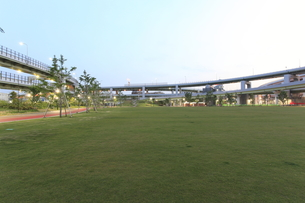 神戸震災復興記念公園(みなとのもり公園)の写真素材 [FYI00107876]