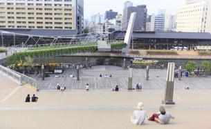 なんばハッチから堀江キャナルテラスをみるの写真素材 [FYI00107881]