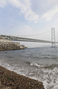 明石海峡大橋の写真素材 [FYI00107919]