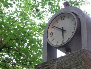 夕刻を示す時計の写真素材 [FYI00108133]