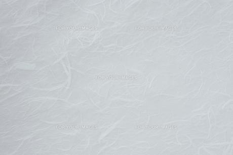 白い柄入りの和紙の写真素材 [FYI00108758]