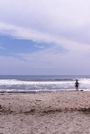 海と人の素材 [FYI00108858]