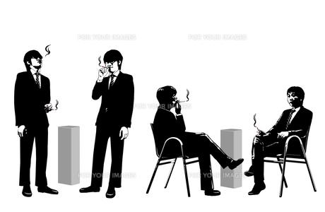 喫煙イメージの写真素材 [FYI00108897]