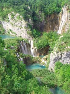 クロアチアのプリトヴィツェ国立公園の写真素材 [FYI00108943]