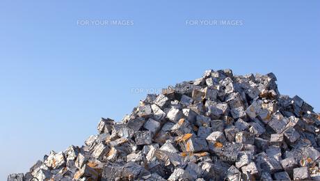 ゴミの山の写真素材 [FYI00109035]