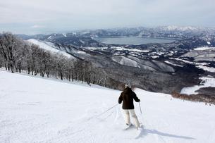 田沢湖スキー場の写真素材 [FYI00109493]