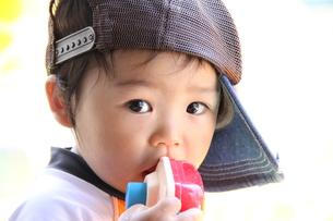 おもちゃ食べたの写真素材 [FYI00109563]