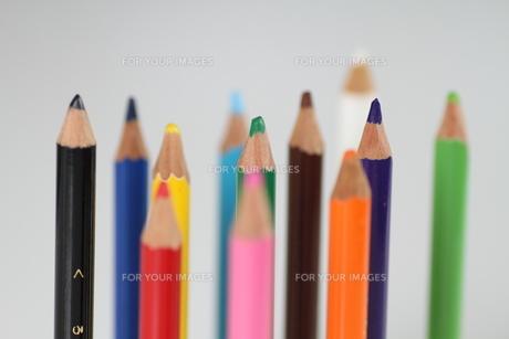 12色色鉛筆2の写真素材 [FYI00109572]