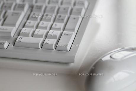 キーボードとマウスの写真素材 [FYI00109586]