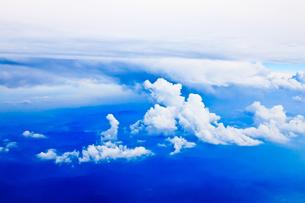 太平洋上空の写真素材 [FYI00110107]