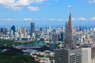 新宿から六本木・東京タワーへの眺望の写真素材 [FYI00110115]