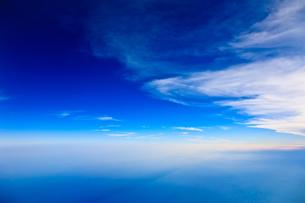 上層雲の写真素材 [FYI00110120]