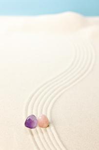パワーストーンと砂紋の素材 [FYI00110162]