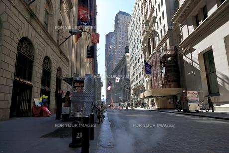 ウォール街の写真素材 [FYI00110221]