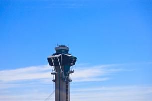 ロサンゼルス空港の管制塔の写真素材 [FYI00110224]