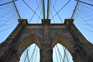 ブルックリンブリッジの写真素材 [FYI00110232]