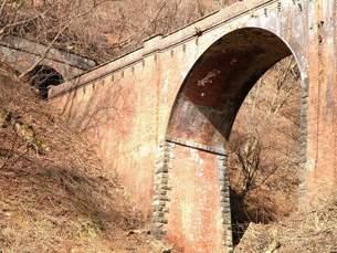 旧信越本線廃線めぐり その3 碓氷峠第1アーチ橋の写真素材 [FYI00110276]