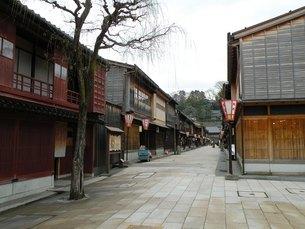 金沢の町並みその3 ひがし茶屋街の写真素材 [FYI00110300]