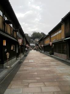 金沢の町並みその2 ひがし茶屋街の写真素材 [FYI00110313]