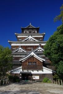 広島城天守閣の写真素材 [FYI00110372]