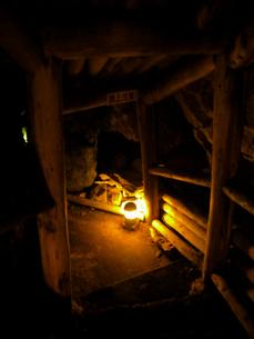山形銀山温泉の町並み その3 鉱山口跡の写真素材 [FYI00110387]