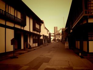 九州の旅 長崎編 出島の町並み(クラッシック調)の写真素材 [FYI00110390]