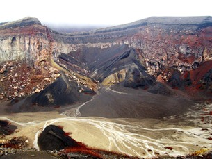 九州の旅 熊本編 阿蘇山旧噴火口その1の写真素材 [FYI00110391]