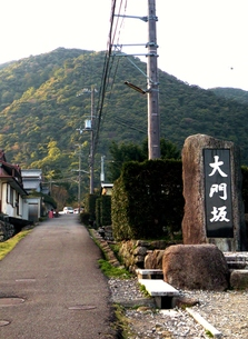 熊野古道の風景 熊野大社大門坂入口の写真素材 [FYI00110413]