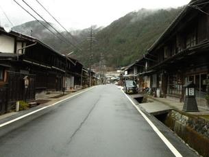 中山道須原宿の町並み その1の写真素材 [FYI00110461]