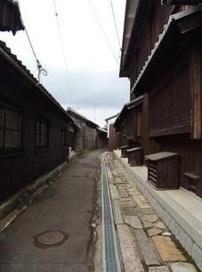 東海道土山宿の町並み その4 古い町並みの写真素材 [FYI00110463]