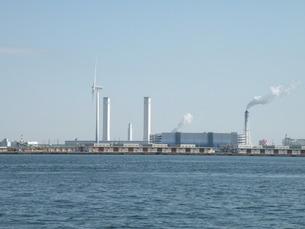横浜港湾の風景 その2の写真素材 [FYI00110477]