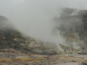 川湯硫黄山 その2の写真素材 [FYI00110479]