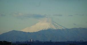 千葉から見た富士山 2015.1.1の写真素材 [FYI00110486]