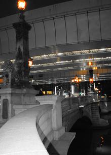 夜の日本橋 その2の写真素材 [FYI00110503]
