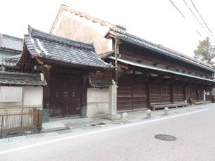 東海道の風景 和中総本舗(旧薬屋)の写真素材 [FYI00110509]