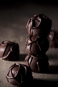 マカダミアナッツのチョコレートの写真素材 [FYI00110966]