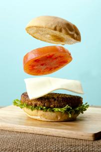 ハンバーガーの写真素材 [FYI00110972]