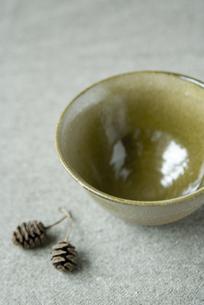 陶芸茶碗の写真素材 [FYI00111016]
