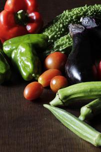 夏野菜の写真素材 [FYI00111276]