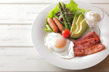 朝食イメージの写真素材 [FYI00111294]