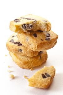チョコチップクッキーの写真素材 [FYI00111504]