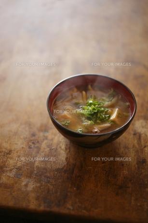 味噌汁の写真素材 [FYI00111584]