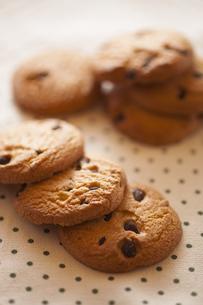 チョコチップクッキーの写真素材 [FYI00111596]