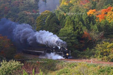 蒸気機関車の素材 [FYI00111709]