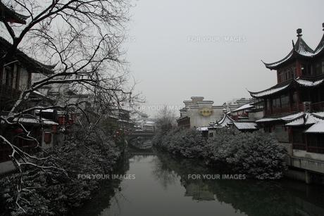 南京 夫子廟の写真素材 [FYI00112163]