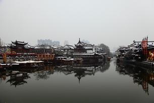 南京 夫子廟の写真素材 [FYI00112168]